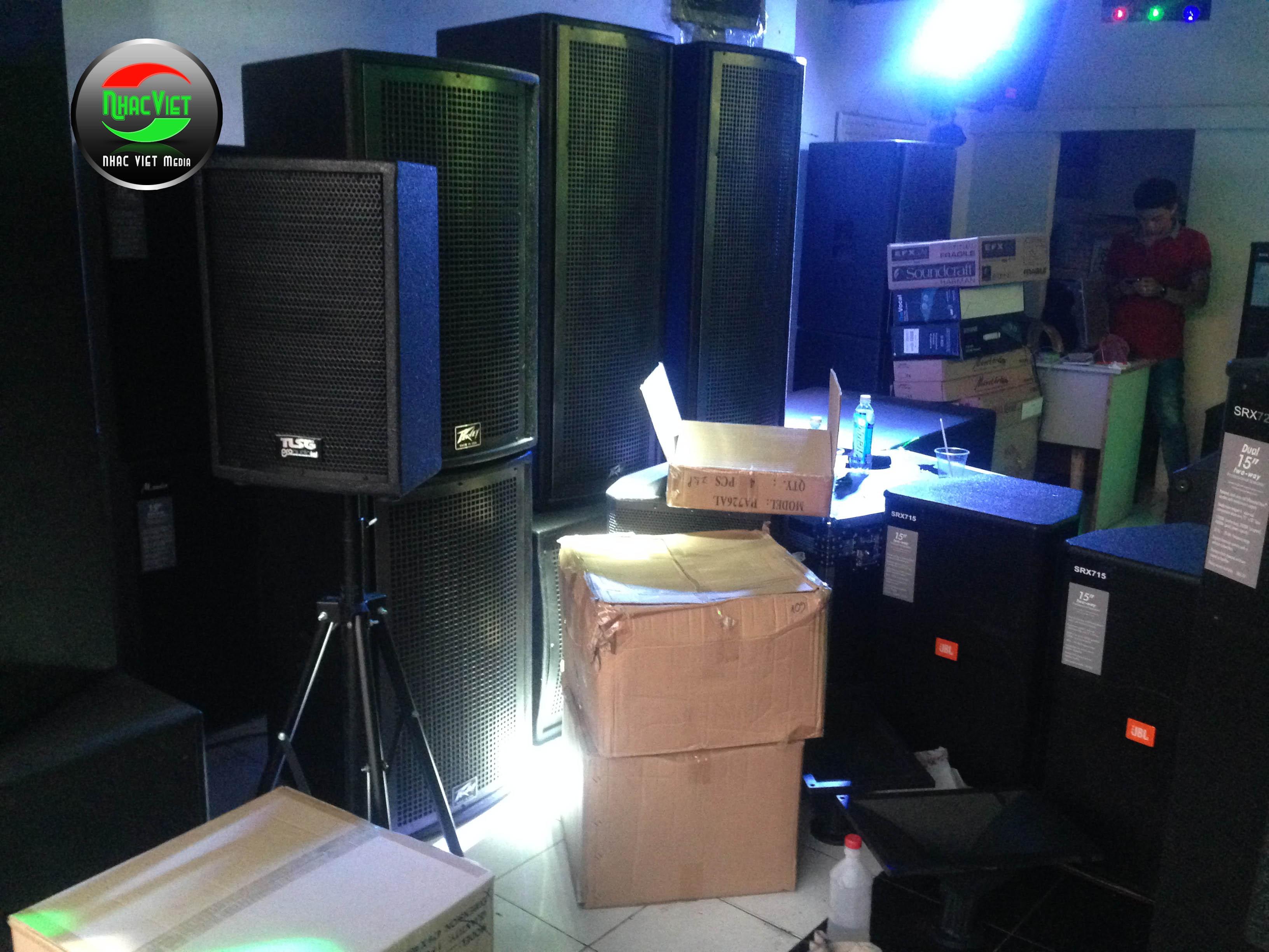 Lắp đặt âm thanh dàn nhạc tại Tuyên Quang