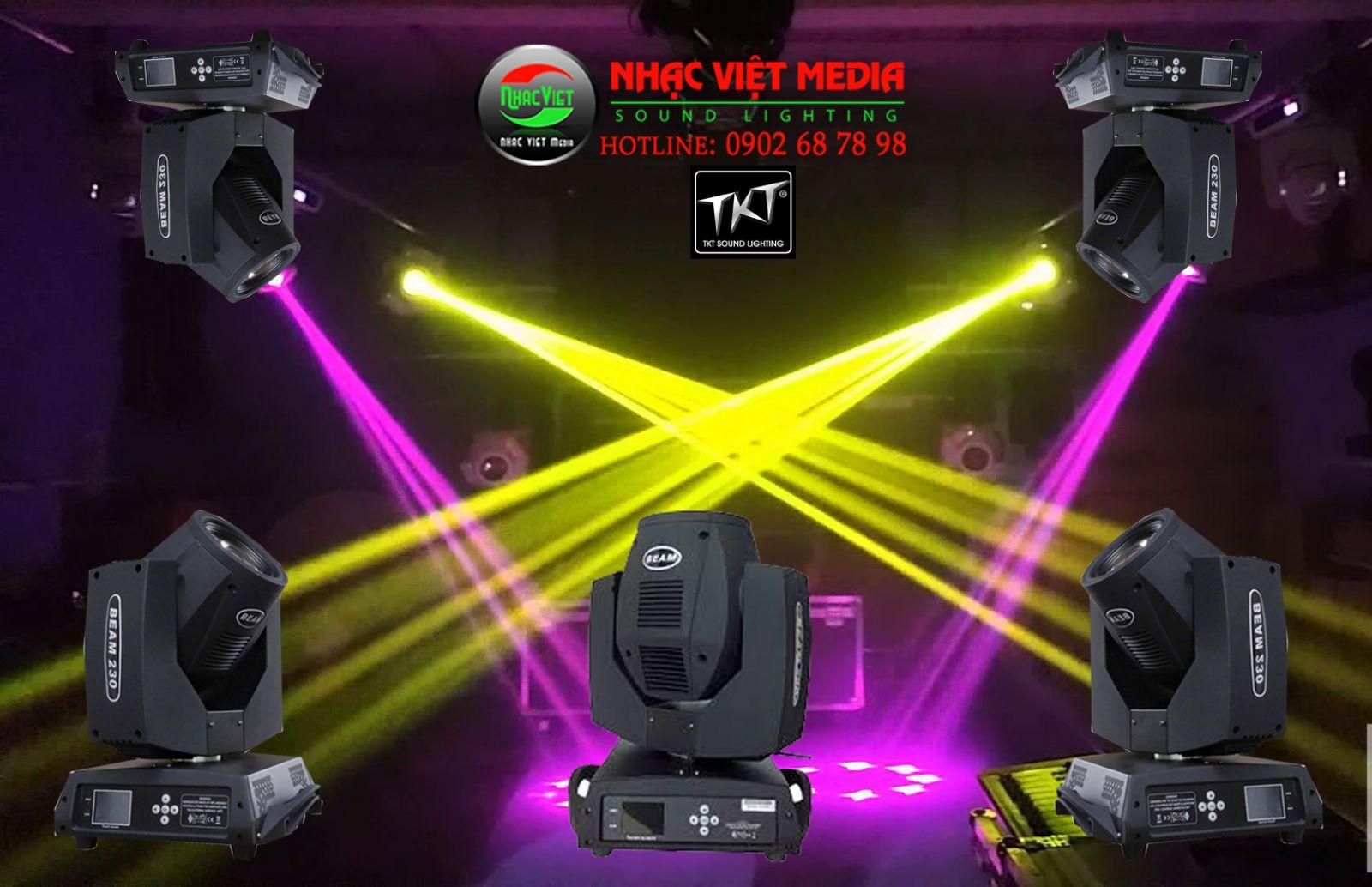 Bán trả góp đèn sân khấu beam 230 TKT