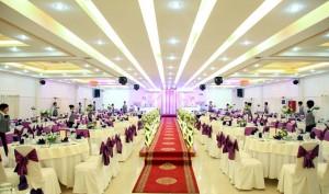 Lắp đặt âm thanh ánh sáng nhà hàng tiệc cưới