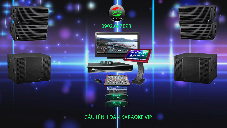 Thi công karaoke Vip