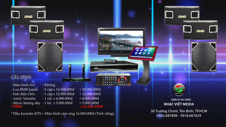 Thiết kế phòng hát karaoke 0902.687898